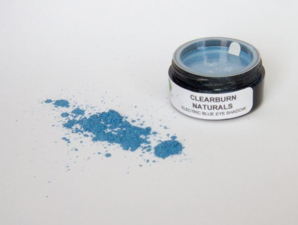 electric blue natural eyeshadow