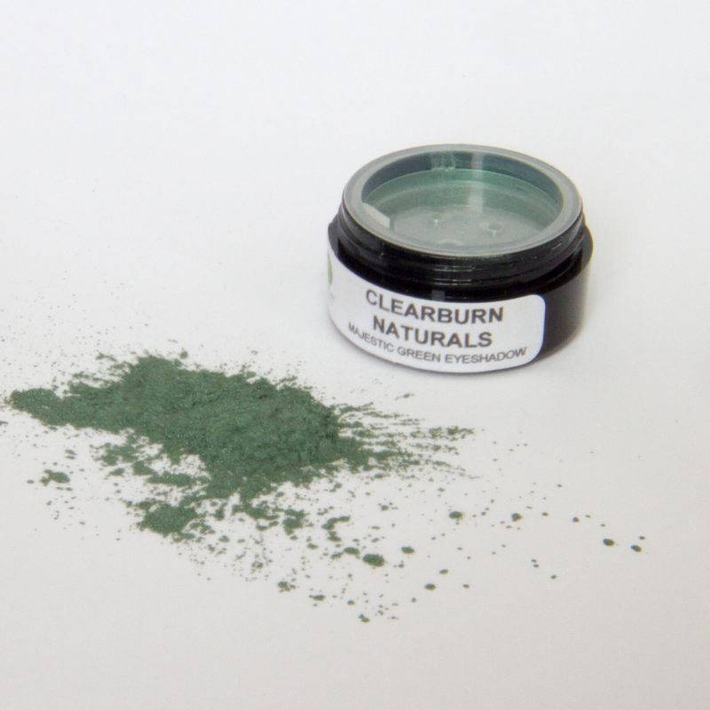 green natural eyeshadow