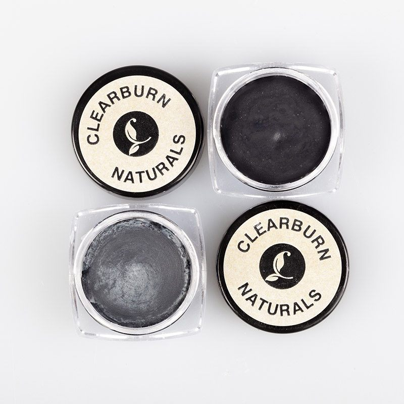 natural black eyeliner powder